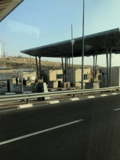 West Bank Border Checkpoint