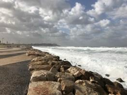 Tel Aviv beach boardwalk