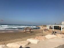 a Tel Aviv beach