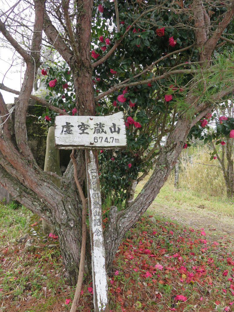 ここであえての「虚空蔵山」(土佐市/佐川町/須崎市)。