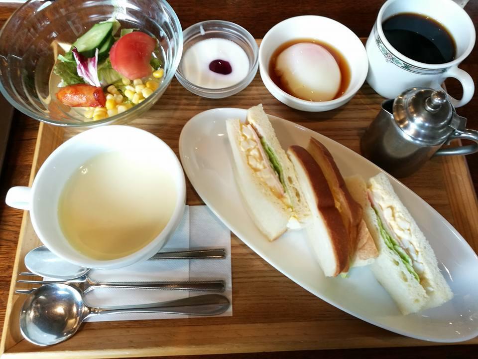 「北欧館」(高知市)でれいほく米粉卵サンドモーニングを堪能せよ!