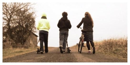 Spring biking & scootering