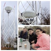 Coffe, Cokes & Hot Chocolate at 115ft in the air!