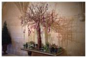 Château de Chenonceau, Chenonceau, France, Castle, Loire Valley, Flower arranging, Floral Design, orchid, sweet pea, pois de senteur, orchidée