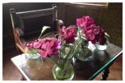 Château de Chenonceau, Chenonceau, France, Castle, Loire Valley, Flower arranging, Floral Design, orchid, calla, orchidée