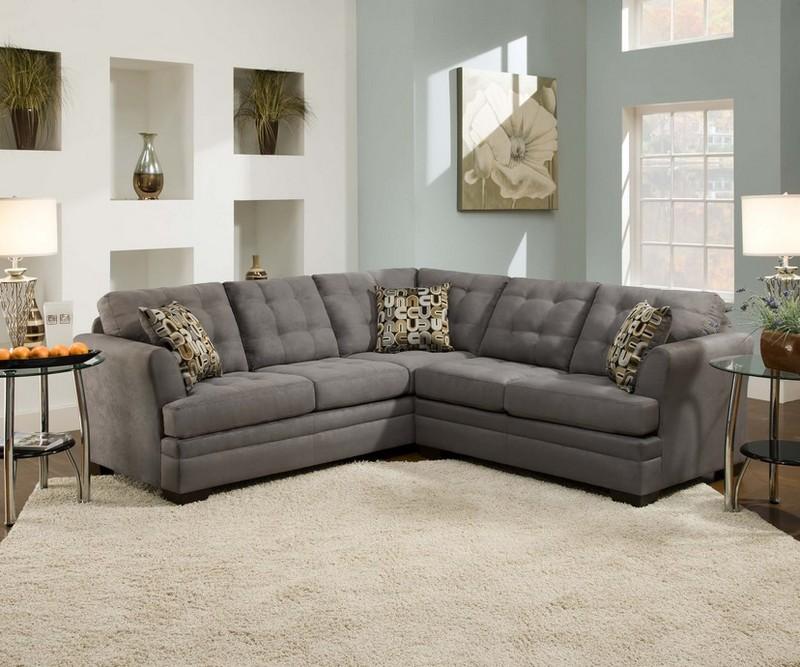 Fabric Sectional Sleeper Sofa