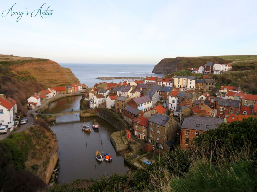 View over looking Staithes