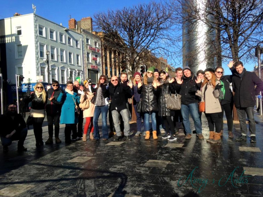 Dublin free walking tour