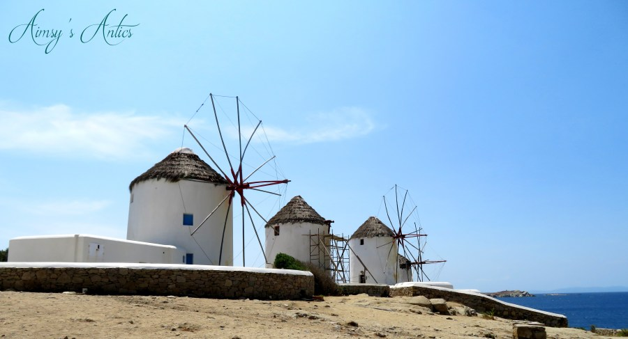 Image of the Windmills of Mykonos
