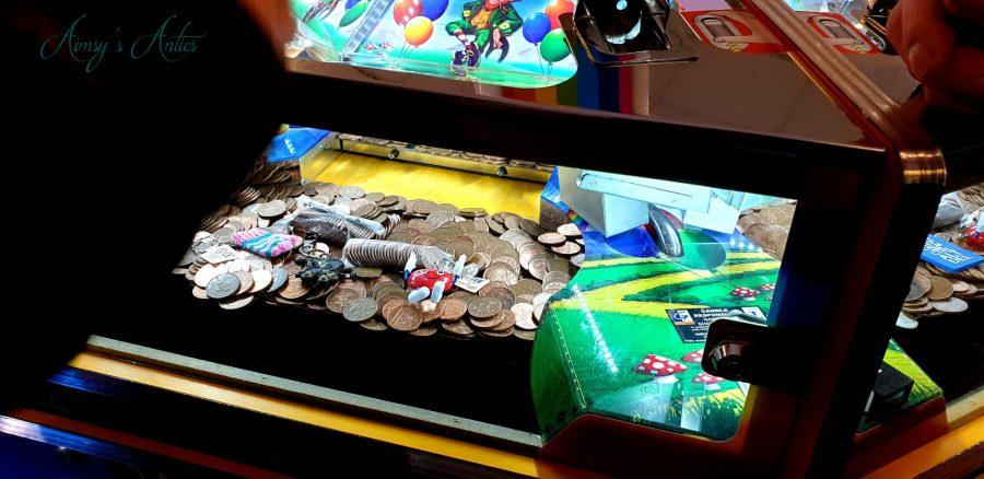 2p machine in an amusement