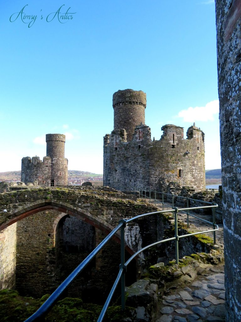 One of the towers of Conwy castle
