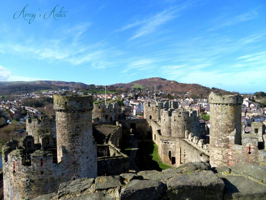 View from the castle, overlooking Conwy Town