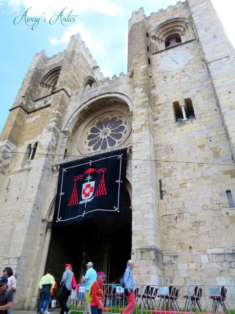The entrance of Lisbon Cathedral / Sé de Lisboa