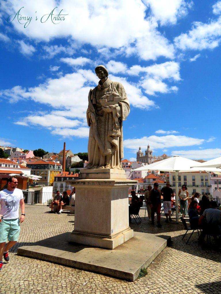São Vicente statue, Lisbon