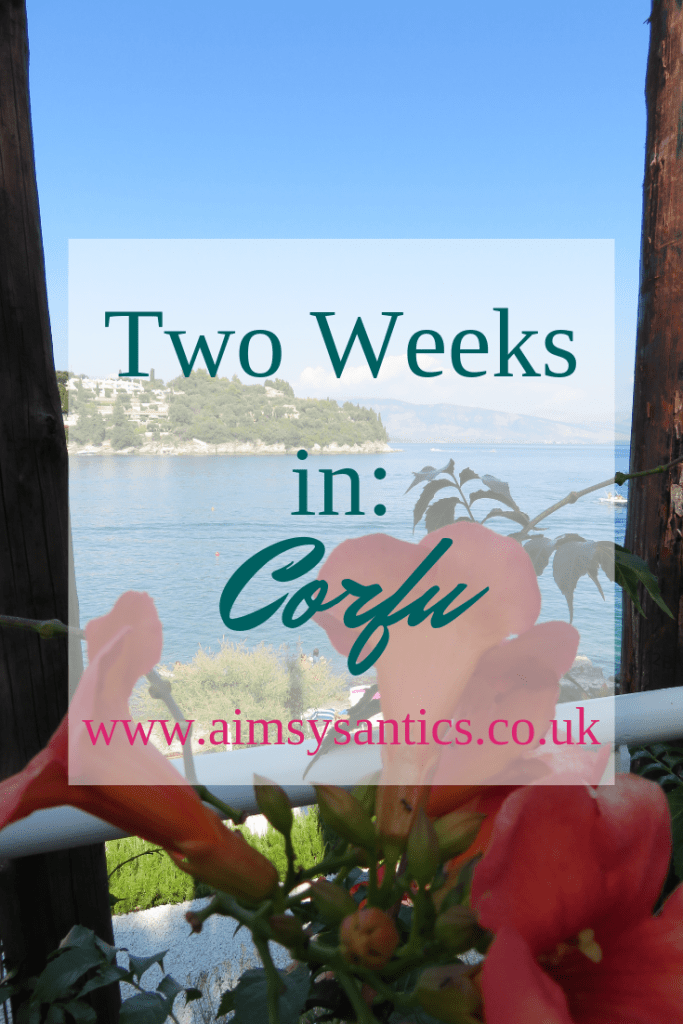 Two Weeks in Corfu - www.aimsysantics.co.uk
