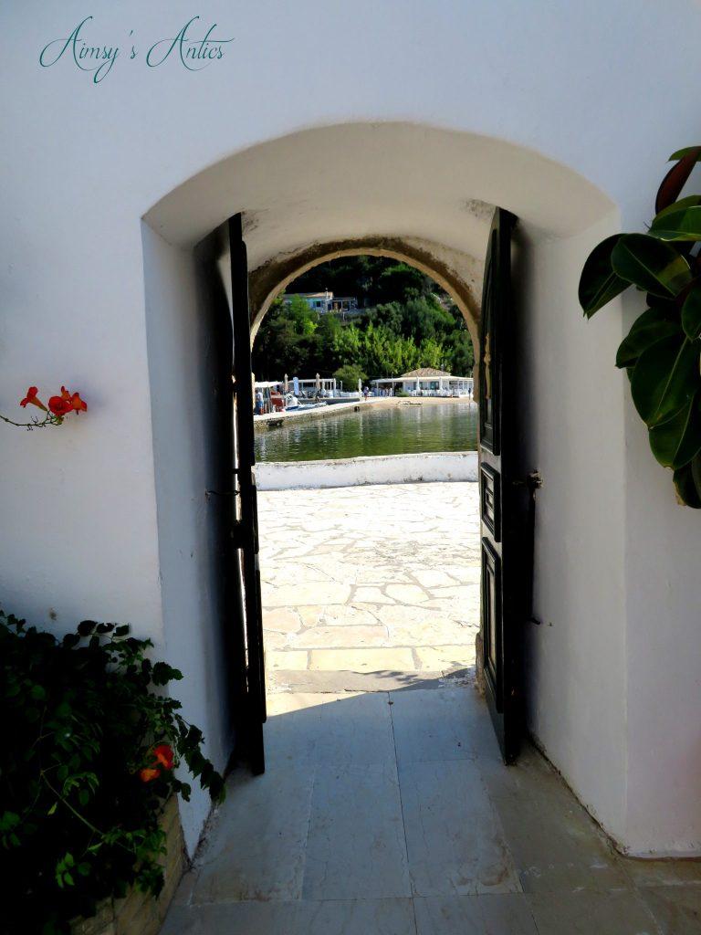 Doorway of Vlacherna Monastery