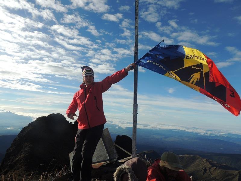 Dor de munte: record mondial doborat de o alpinista romanca