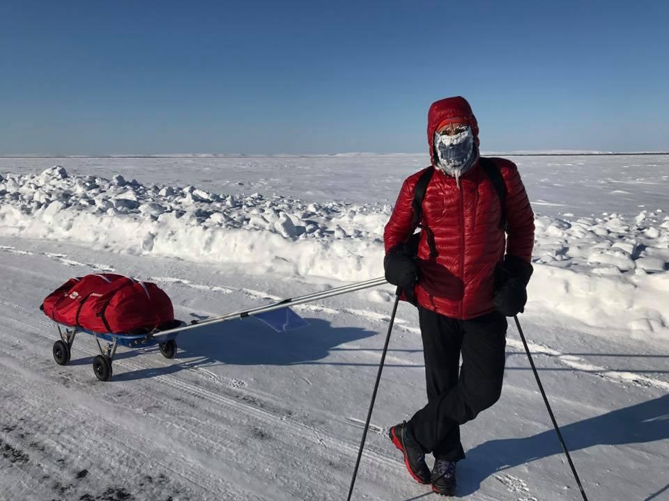 Tibi Useriu revine in Romania dupa aventura extrema de la Arctic Ultra 6633