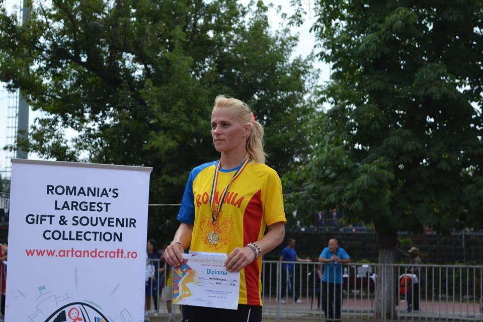 "Mariana Nenu, o ""explozie"" de forta, determinare si optimism"