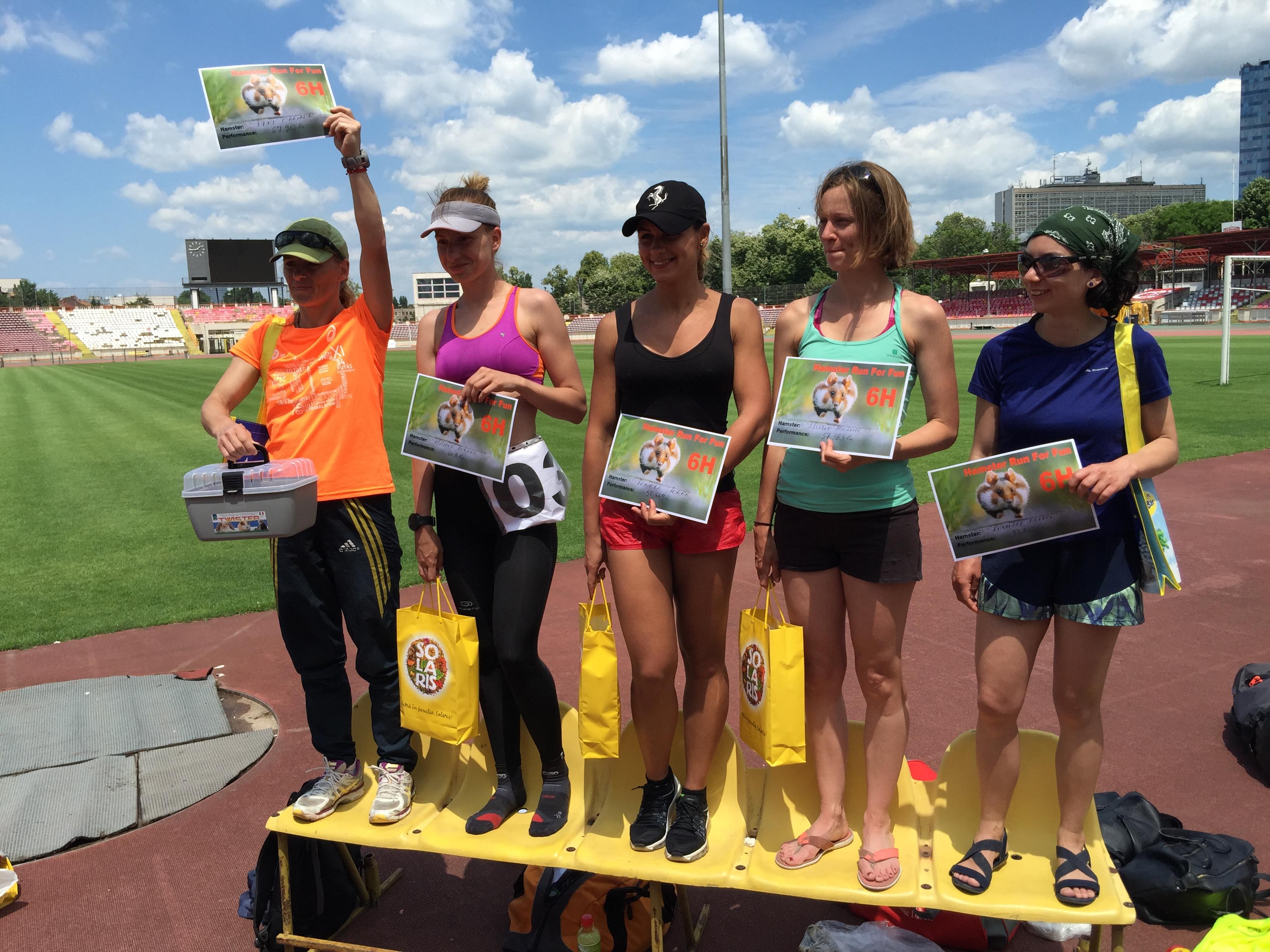 Run For Fun 6H: Mariana Nenu a batut recordul la feminin