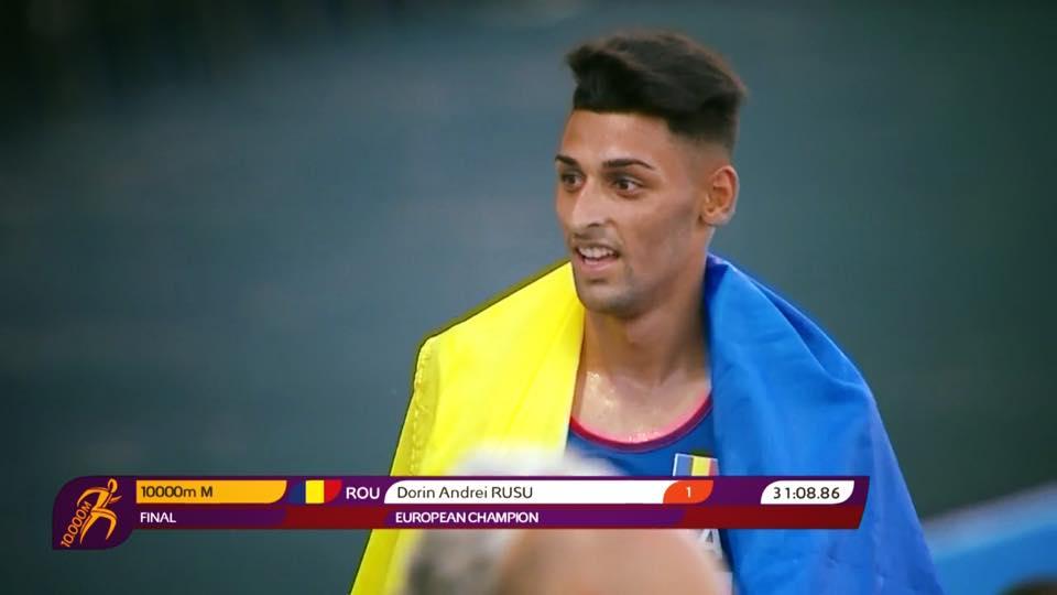 A iesit campion european in proba de 10 mii de metri fara pista de atletism in oras
