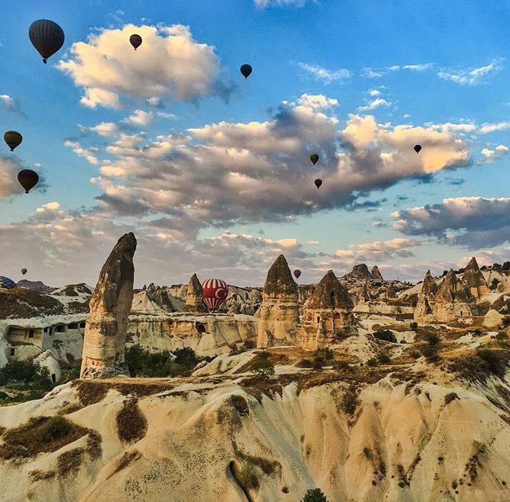 """""""Armata"""" de romani la Cappadocia Ultra Trail, in Turcia"""