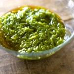 内臓脂肪を減らす海藻・アカモクのレシピ