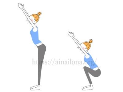 AYAトレーナーの筋肉貯金体操