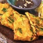 茶がらと根菜のチヂミの作り方・栄養分を無駄なく食べるレシピ