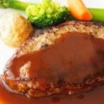 細切れ肉と砂糖で絶品ハンバーグのレシピ