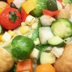 ダノイ流瞬間蒸し野菜のレシピ