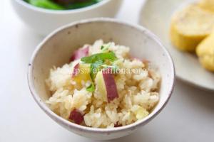 ツナ缶の炊き込みご飯のレシピ