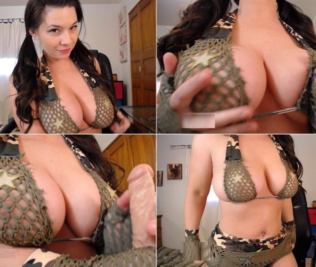 Victoria Rayes Joi Pov Stand At Attention For My Big Tits Hd P