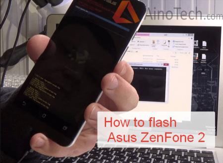 How to flash Asus ZenFone 2