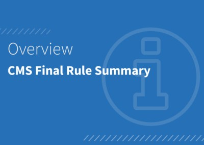 CMS Interoperability and Patient Access Final Rule