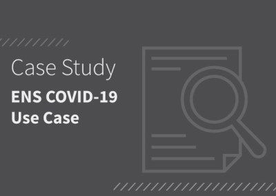 ENS COVID-19 Use Case