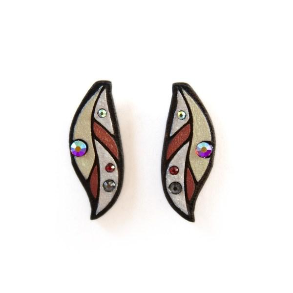 Kõrvarõngad LEHT | Irina Tammis Design