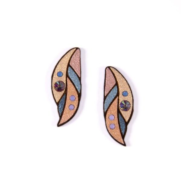 Kõrvarõngad LEHT   Irina Tammis Design