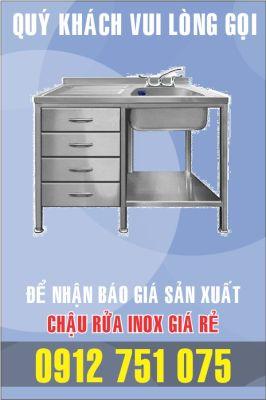 ban bon rua inox 266x400 - Bán chậu rửa inox