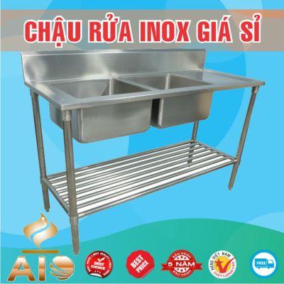 ban chau rua inox gia re 400x400 - Xưởng sản xuất chậu inox
