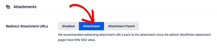 redirect attachment urls