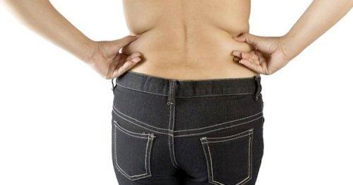 Backside of woman_love handles