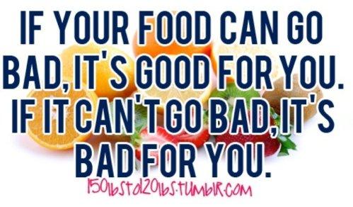 Message_healthy foods vs bad foods
