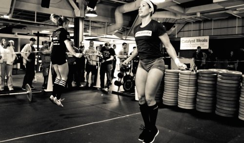 CrossFit training_WODs_jump rope
