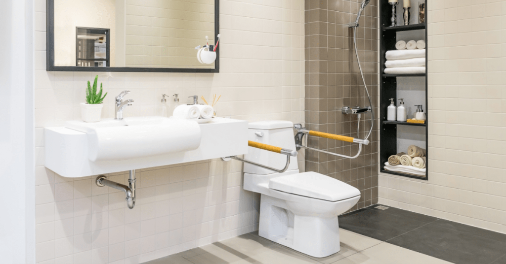 bathroom safety bars for aging