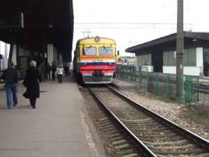 Riga to Jurmala,  not one of the Great Train Journeys of the World