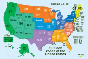 ZIP codes and Magazine Advertisements