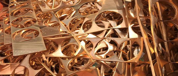 銅スクラップの取扱一覧、丹銅の買取価格、丹銅の単価、丹銅の相場、丹銅の値段、丹銅、亜鉛銅、銅合金、装飾銅、丹銅スクラップ買取、滋賀県非鉄金属買取の神田重量金属株式会社