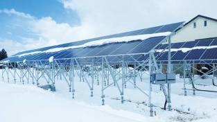 喜多方市松山太陽光発電所