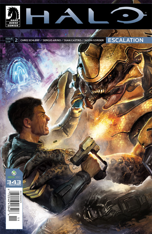 With a strong opening issue I came into this issue ready for a great bout of action. The stakes are set high and there are dozens of moving parts within this series despite still being in its infancy. Halo: Escalation is most definitely action packed, if nothing else. But, is it good?